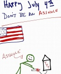 Rob Pollak how to be an asshole drawing