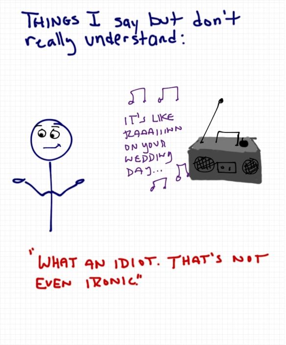 Isn't it Ironic??