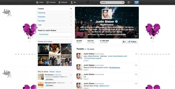 Bieber Tweets