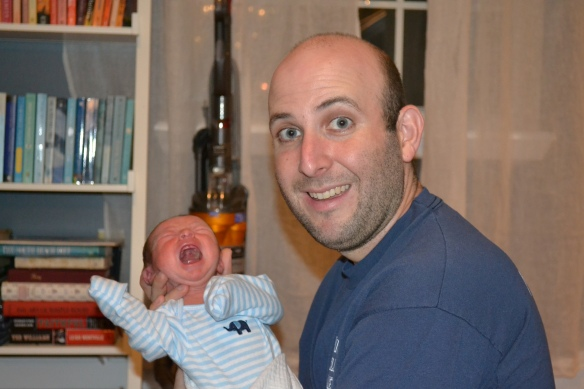A snapshot of my first week as a dad